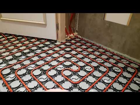 Vloerverwarming Badkamer Retourleiding : Vloerverwarming aansluiten op radiator rtl vloerverwarming op