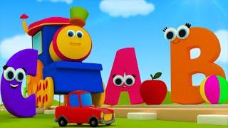 Bob, o trem | Bob o trem numa aventura Fonética | Canção Fonética | Canção do ABC | Kids Song