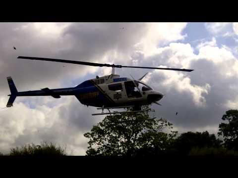 Police Copter landing
