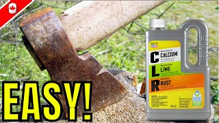 How To Remove Rust EASY | CLR Rust Remover
