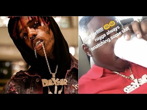 Famous Dex Says 'My Chain wasn't SNATCHED.. I was SET UP.. and it was STOLEN. Imma get it back 2day'