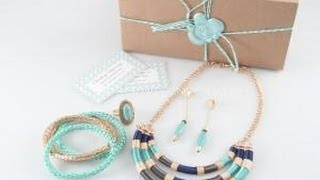 Darling Discovery July 2014 Jewelry Subscription Box Reupload