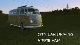 Hippie Van | Test Drive | City Car Driving
