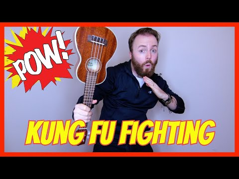 KUNG FU FIGHTING! (Carl Douglas) - EASY UKULELE TUTORIAL!