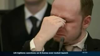 Breivik shows no remorse in court