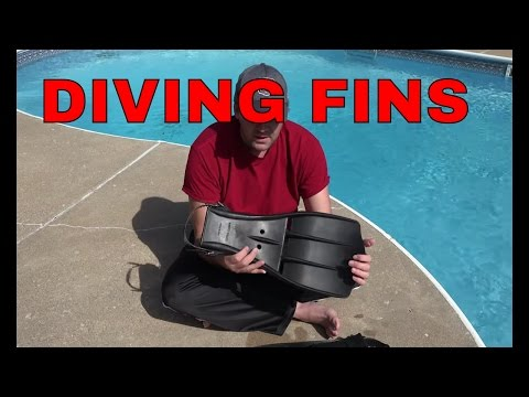 SCUBA Fins Review. The Military Style Deep Sea Diving Fins.