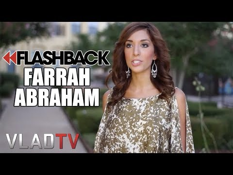 "Flashback: Farrah Abraham Says Her ""Tape"" is Better Than Kim Kardashian's"
