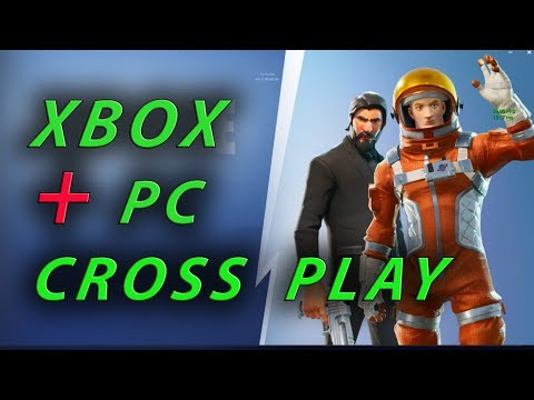 Fortnite Xbox And PC Crossplay Tutorial