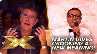 Martin Bashir gives crooning a whole new meaning! Danke Schoen!   Live Week 1   X Factor: Celebrity