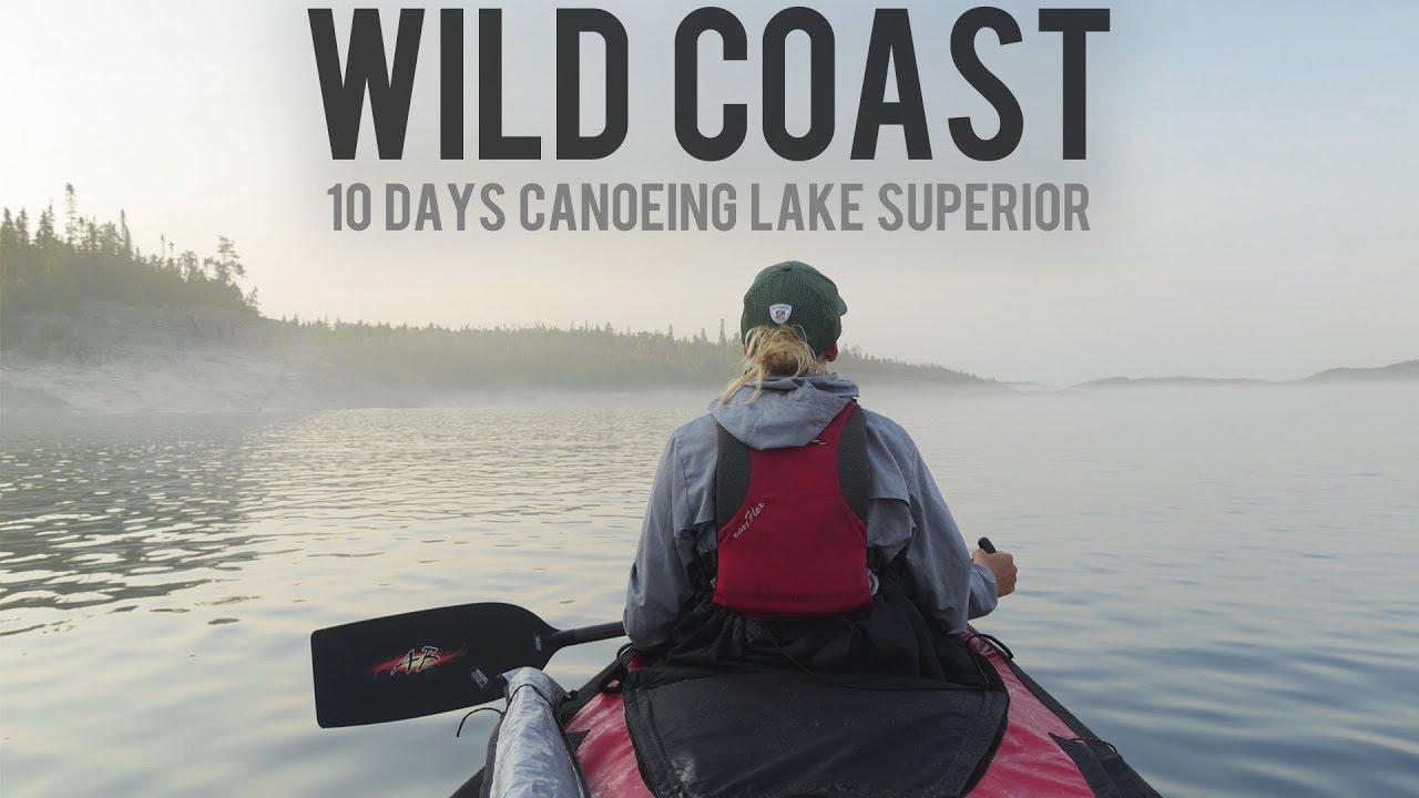 Kayaking In Lake Superior