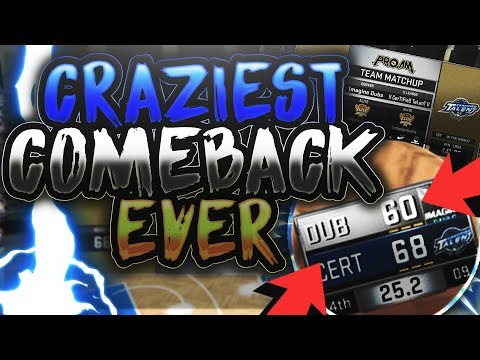 THE GREATEST COMEBACK IN NBA 2K HISTORY AGAINST THE NUMBER #1 TEAM IN THE WORLD- CRAZY BUZZER BEATER
