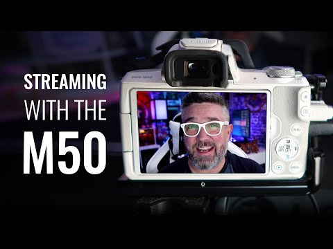 How to Live Stream with the Canon M50