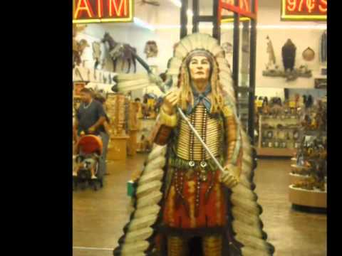 indian arts craft store fremont street las vegas youtube