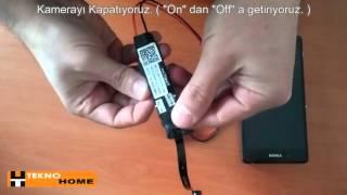 Modül Wifi Gizli Kamera Kullanımı http://www.teknohome.net