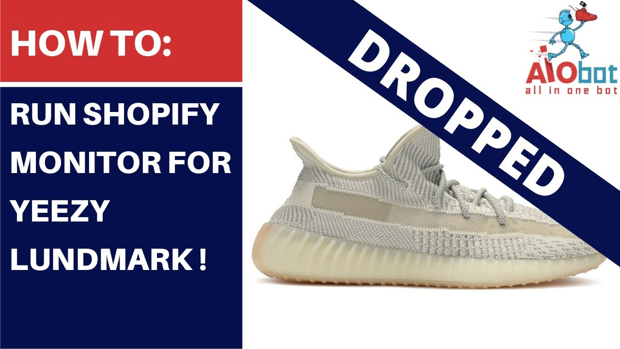 AIO Bot V2 Shopify - How to setup the bot for Yeezy Boost 350 Antilia by  ANB AIO