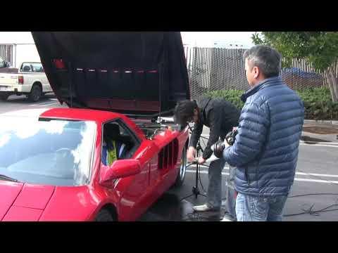 Cizeta V16T Engine Sound Recording (Gran Turismo)