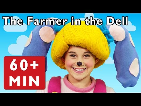 The Farmer in the Dell and More | Nursery Rhymes from Mother Goose Club!