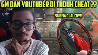 GUA DAN GM MARV DI TUDUH CHEAT DI RANKED ?? PUSH RANK PAKE DUAL SHOTGUN