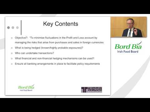Bord Bia Currency Risk Management Training #2