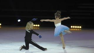 Sasha Plushenko Ilina Askarova  Swan lake rehearsal 19.12.2018