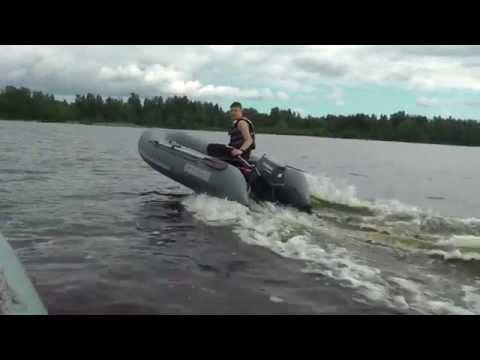 Выбор надувной лодки и мотора