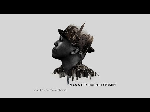 Create Man And City Double Exposure With Photoshop