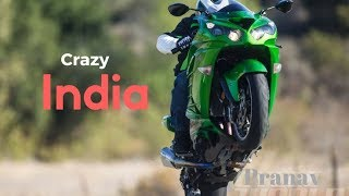 Best Superbikes in India 2017 | Loud Revs Wheelie stunt Exhaust Sound Fly by | Surprise at end|Delhi