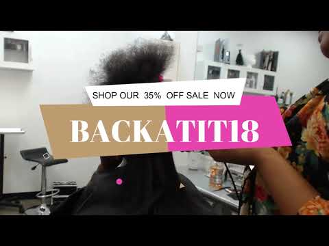 How to silk out matted hair 4B natural hair