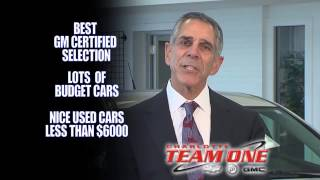 You Get It All At Team One Chevrolet Buick GMC