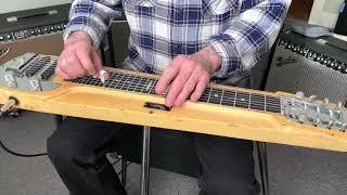 La Paloma - steel guitar