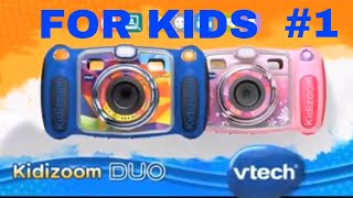 Baby and kids Games with Duo Camera: Kidizoom Vtech Review