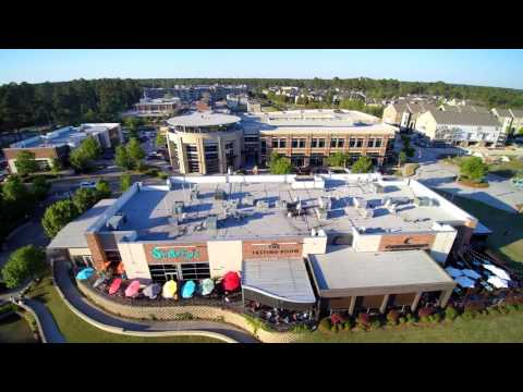 Kingwood Waterfront Drone View
