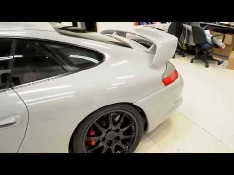 Gloss Tele Gray Porsche 996 GT3 by Wrap Workz Hong Kong