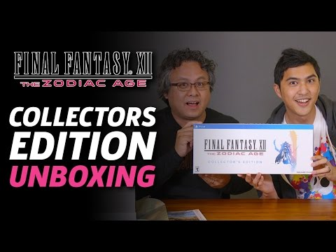 Final Fantasy XII: The Zodiac Age Collector's Edition Unboxing
