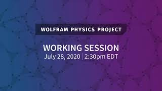 Wolfram Physics Project: Working Session Tuesday, July 28, 2020 [Metamathematics | Part 3]