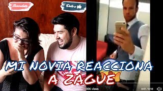 😶🍆 MI NOVIA REACCIONA A VIDEO DE ZAGUE 🍆😶 ¡IMPRESIONANTI! México en Rusia 2018 || Derbi Time