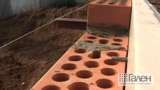 видео Особенности возведения трехслойных стен по ТИСЭ