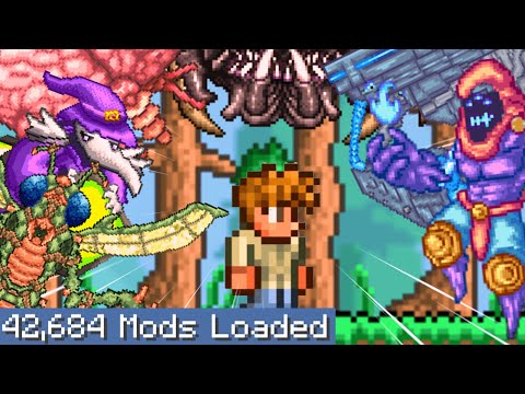 Terraria But I Downloaded Every Single Mod