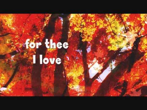 FRIENDLY PERSUASION (THEE I LOVE) - (Lyrics)