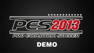 PES 13 Demo Gameplay Italy - England PC HD