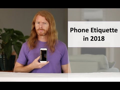 Phone Etiquette in 2018 - Ultra Spiritual Life episode 91