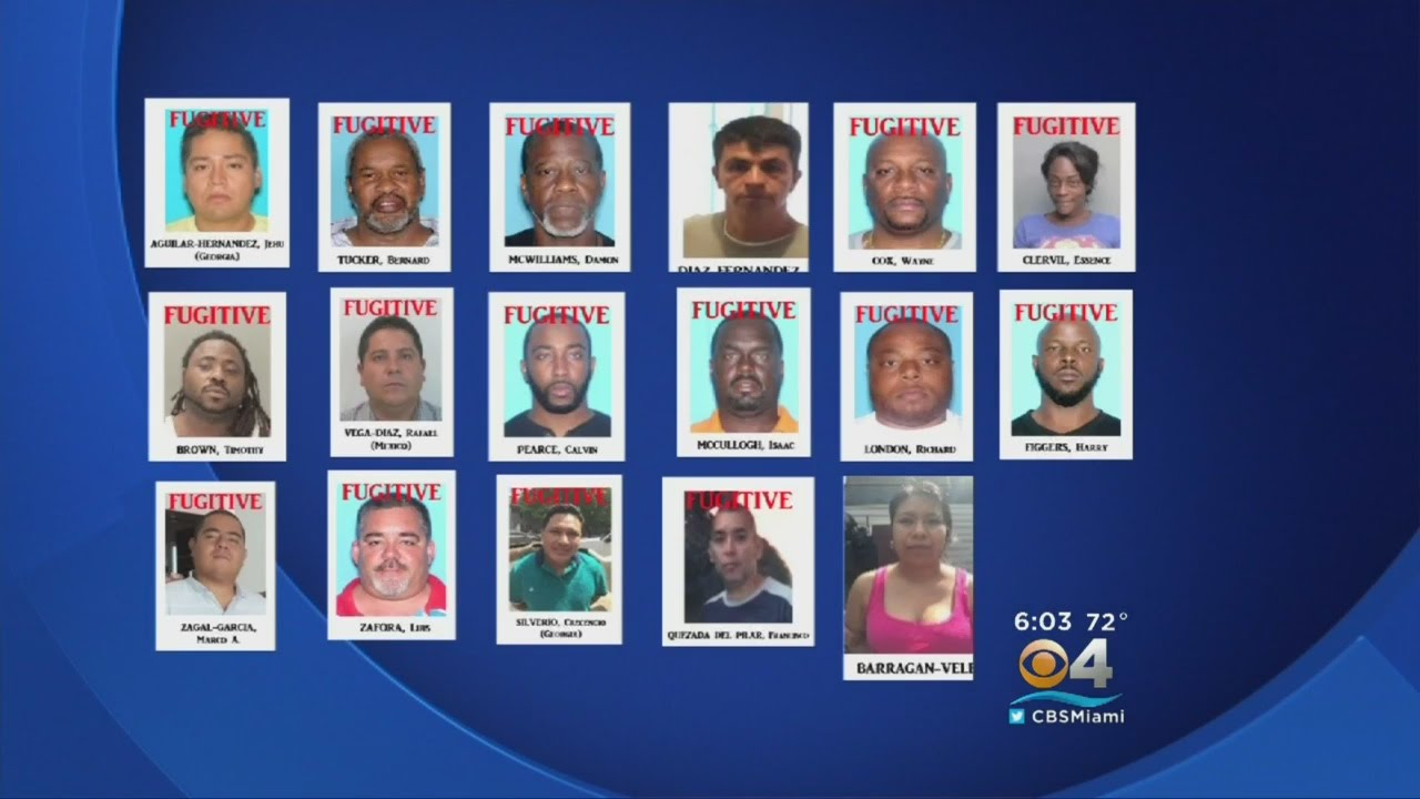 Law Enforcement Arrests 55 In Drugs, Weapons Bust