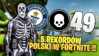5 REKORDÓW POLSKI W FORTNITE SEZON 5 !!
