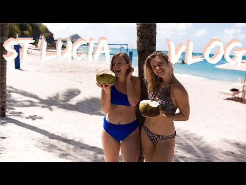 DAY IN THE LIFE VLOG   YOGA RETREAT IN ST LUCIA