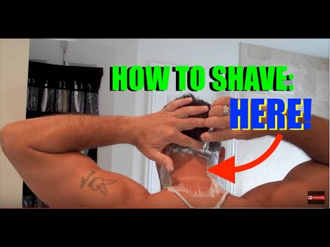 how to get a really close shave pubic area
