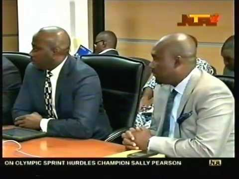 Acquisition Of ConocoPhillips Nigeria's Assets Press Conference 2014 - NTA