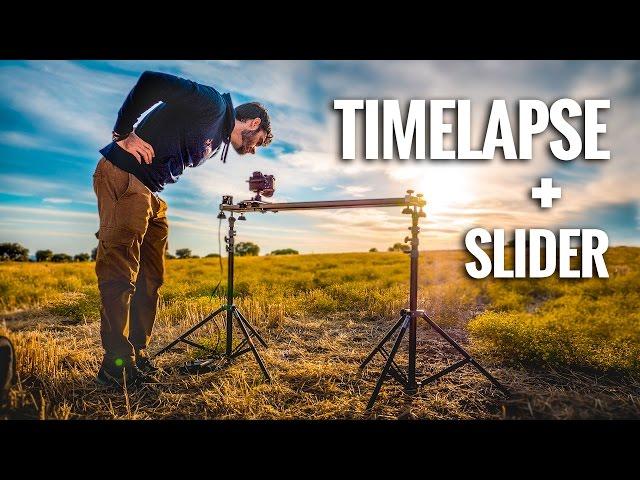 Cómo hacer TIMELAPSE en MOVIMIENTO (Slider Motorizado Harrope)