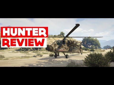 Hunter Review. The Most Powerful Vehicle In GTA 5 Online