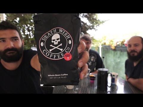 """Dünyanın En Sert Kahvesi """"DEATH WISH COFFEE"""" İncelemesi"""
