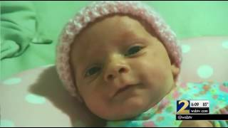 Parents of abused  beaten baby charged with her murder